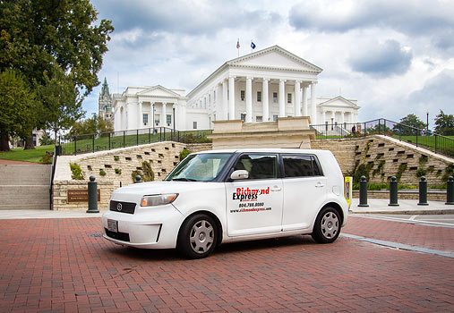 Central Virginia's Leading Courier
